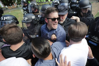 White Supremacists March Again in Charlottesville