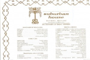 Suburban House placemat