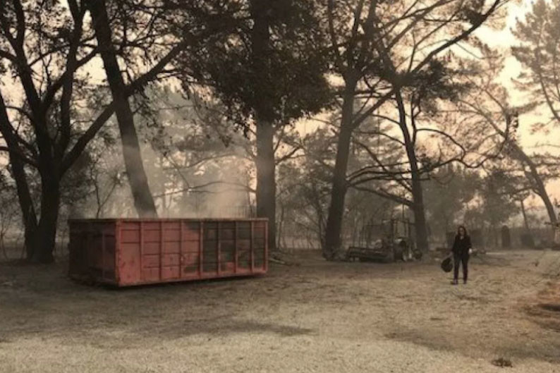 Kosher Winery Damaged as Wildfires Rage on in Northern California