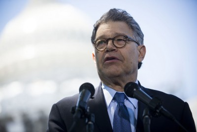 Sen. Al Franken Accused of Groping Broadcaster While She Was Sleeping