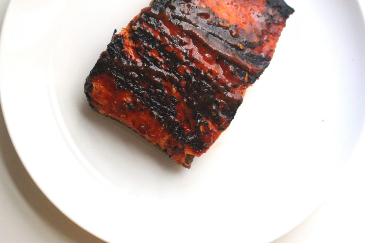 Spicy Seared Salmon