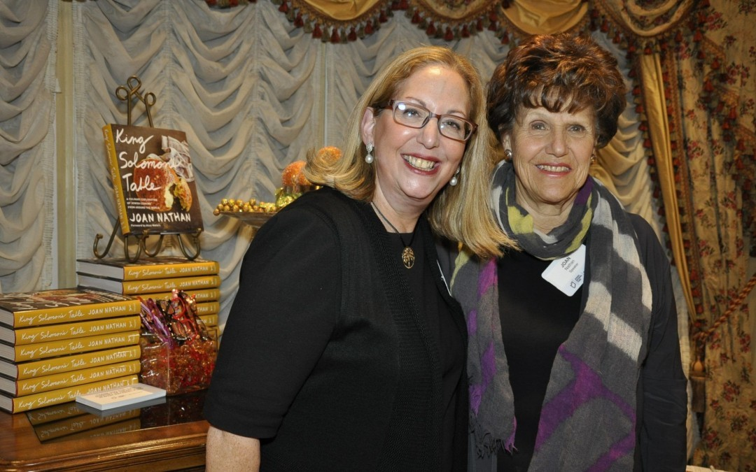 Author Joan Nathan Talks to Jewish Foodies in Baltimore
