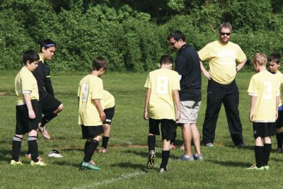 Joe Uddeme Leads Jr. Maccabi Soccer Team