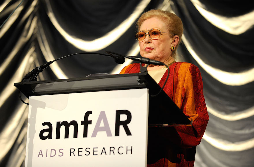 Mathilde Krim, AIDS Research Pioneer, Dies at 91