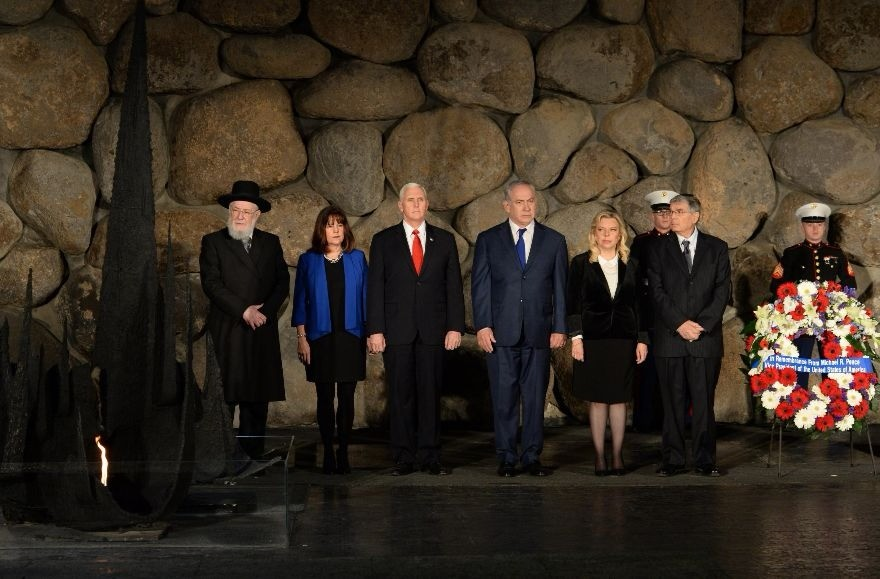 Pence Tweet for Holocaust Remembrance Day Angers Some with 'Christ Imagery'