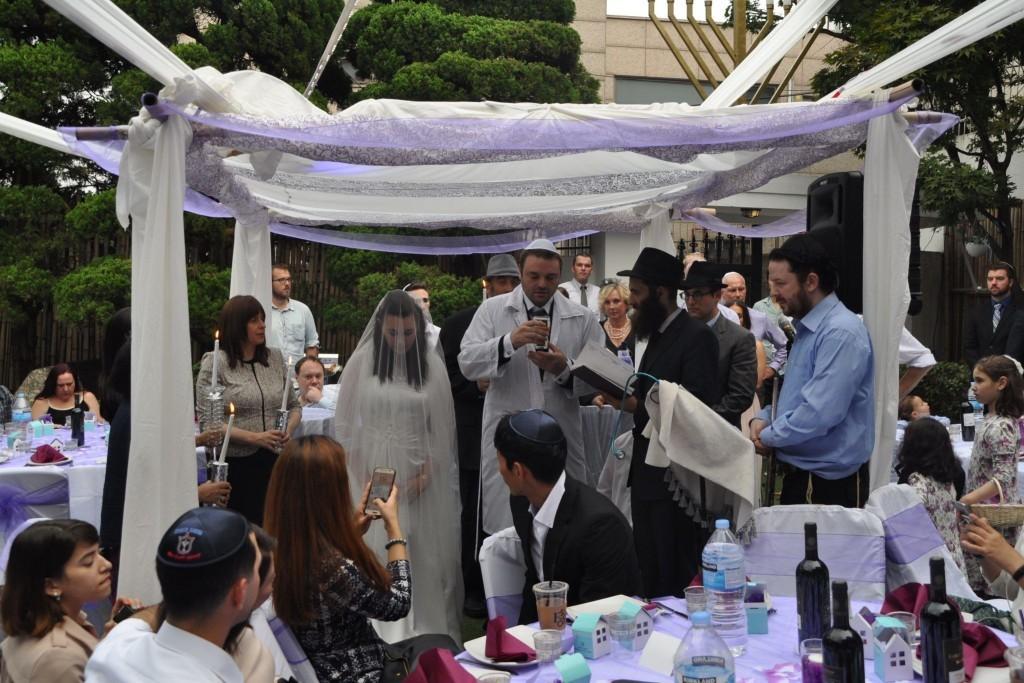 Jewish wedding in Seoul