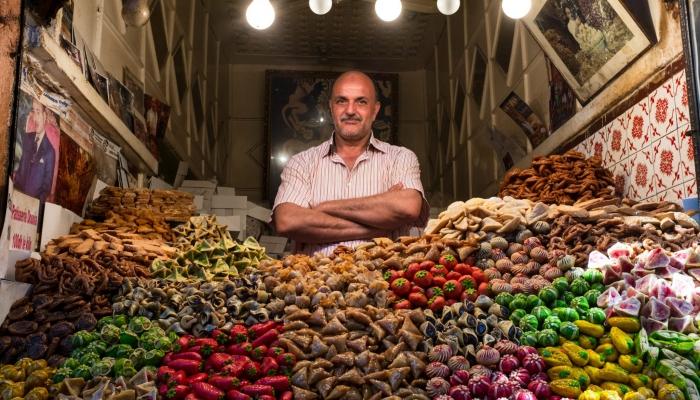 Sweets vendor