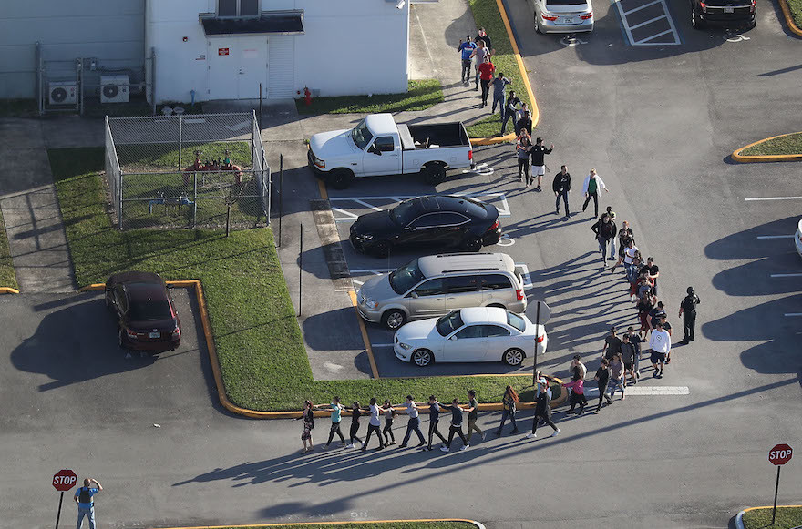 The Florida School Shooting Tragedy — A Study in Eloquence and Cowardice