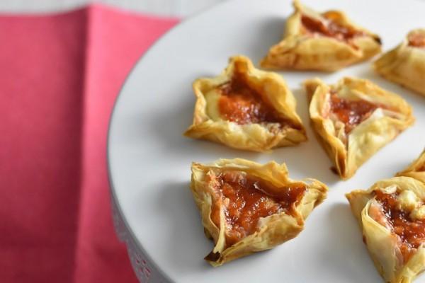 Guava and Cheese Hamantaschen (Sandy Leibowitz)
