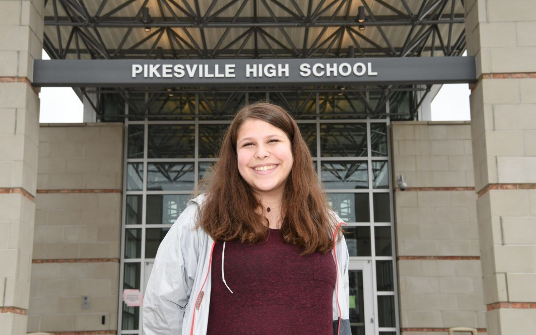 Pikesville High Student Advocates for School Safety Measures