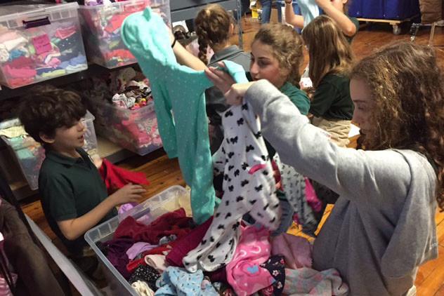 Students Enjoy Half-Day of Service