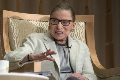 Ruth Bader Ginsburg Says She will Serve as Long as She Has 'Steam'