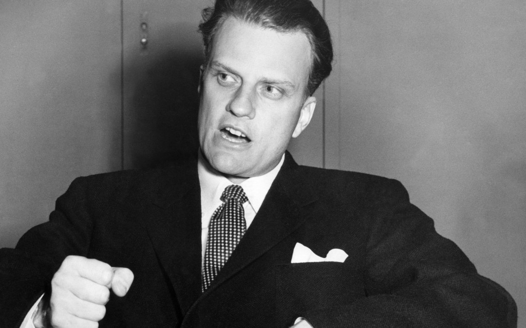 Billy Graham, Who Championed Israel in Public and Derided Jews in Private, Dies at 99