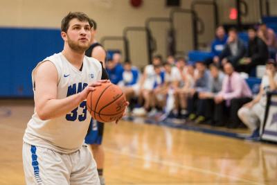 Beth Tfiloh Grad is a Star on Yeshiva University's Basketball Team