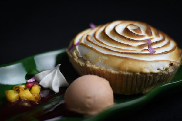 Coconut Custard Matzoh Cream Pie