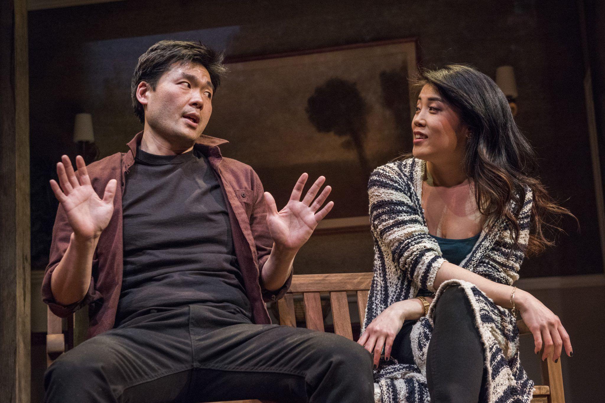 Tony Nam as Ray and Eunice Bae