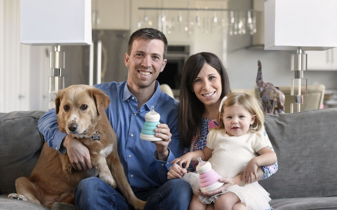 Pikesville Couple Creates Product to Benefit Parents with Young Children