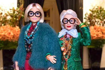 Fashion Guru Iris Apfel, 96, Immortalized as Barbie Doll