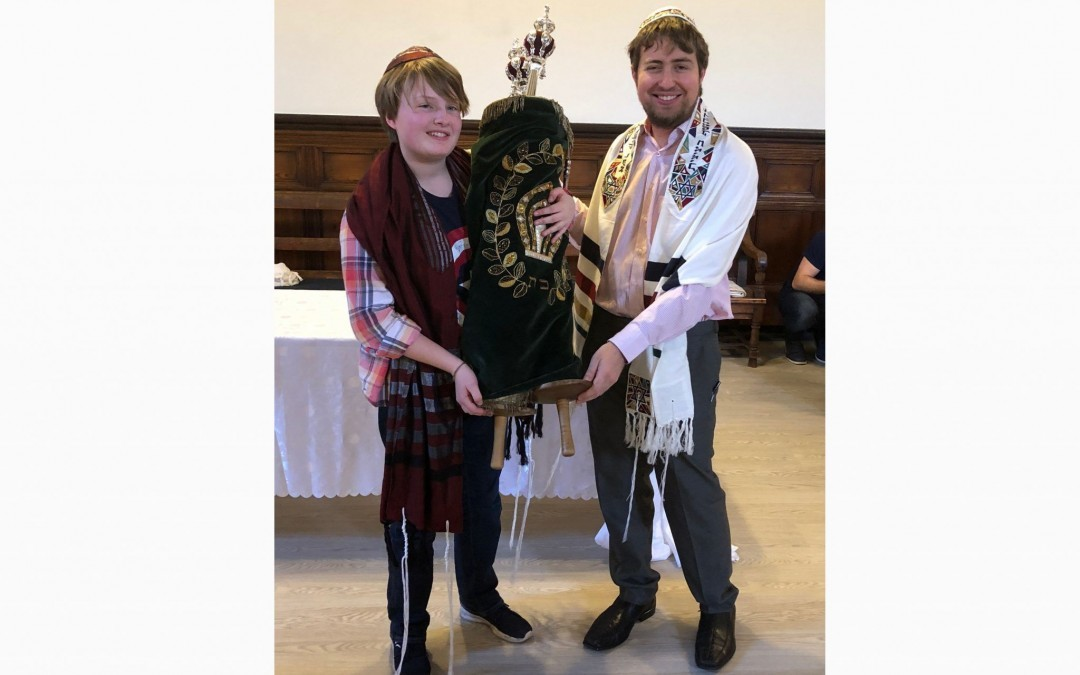 This Teen Had a Gender Neutral B'nei Mitzvah
