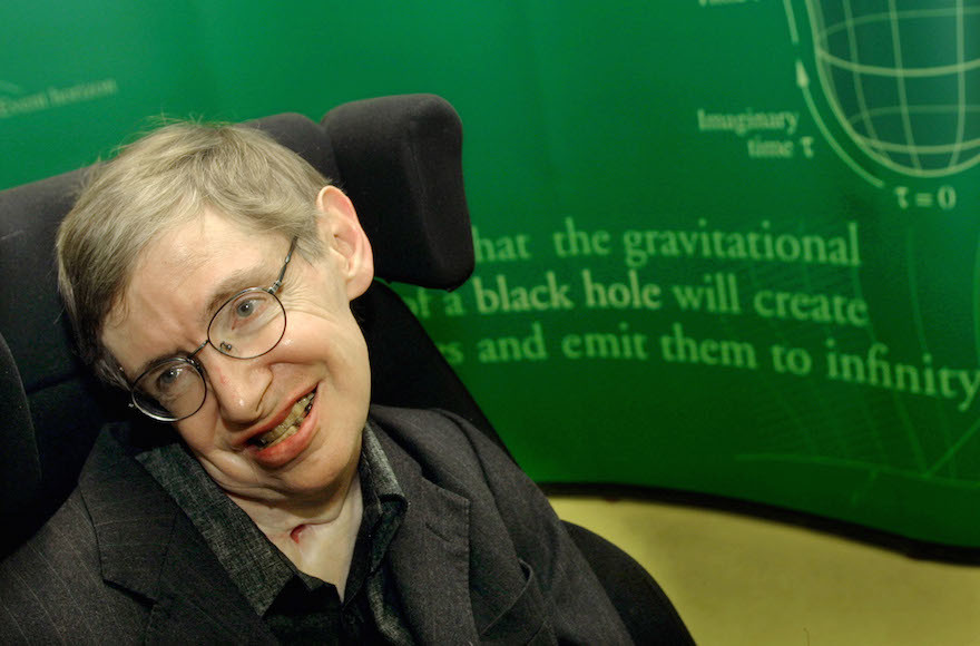 Stephen Hawking Once Boycotted Israel, but an Israeli Academic Inspired One of His Discoveries