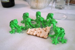 Passover frogs