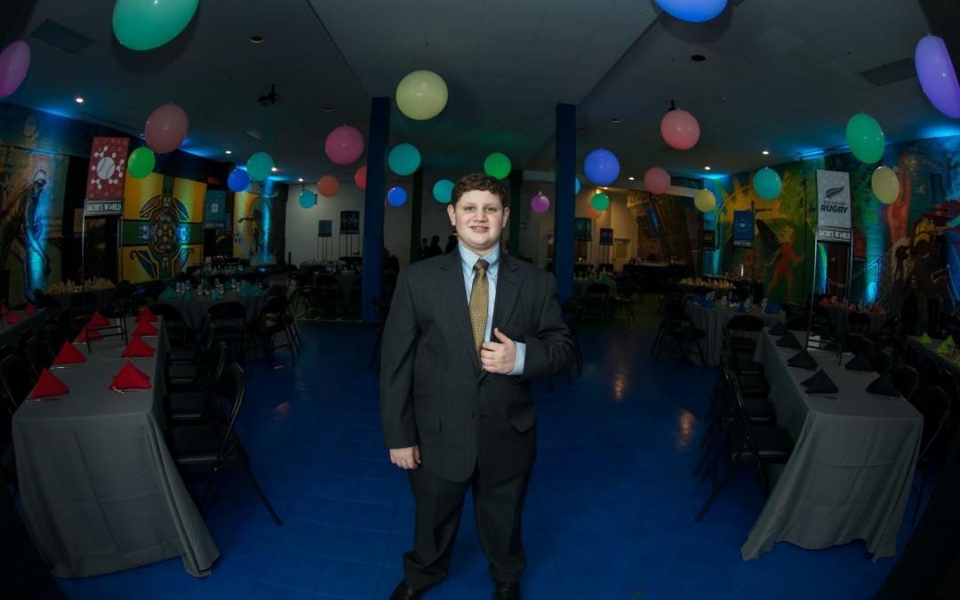 Bar Mitzvah Boy Makes Generous Donation to the Children's Guild