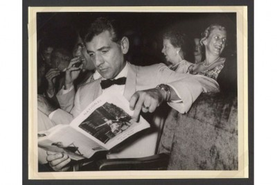 7 Treasures from a Centennial Exhibit on Leonard Bernstein