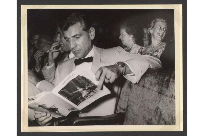 7 Treasures from a Centennial Exhibit on Leonard Bernstein