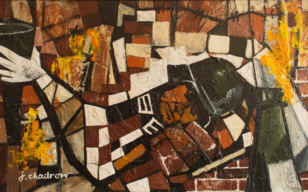 Artist Creates Work Marking Warsaw Ghetto Uprising's 75th Anniversary