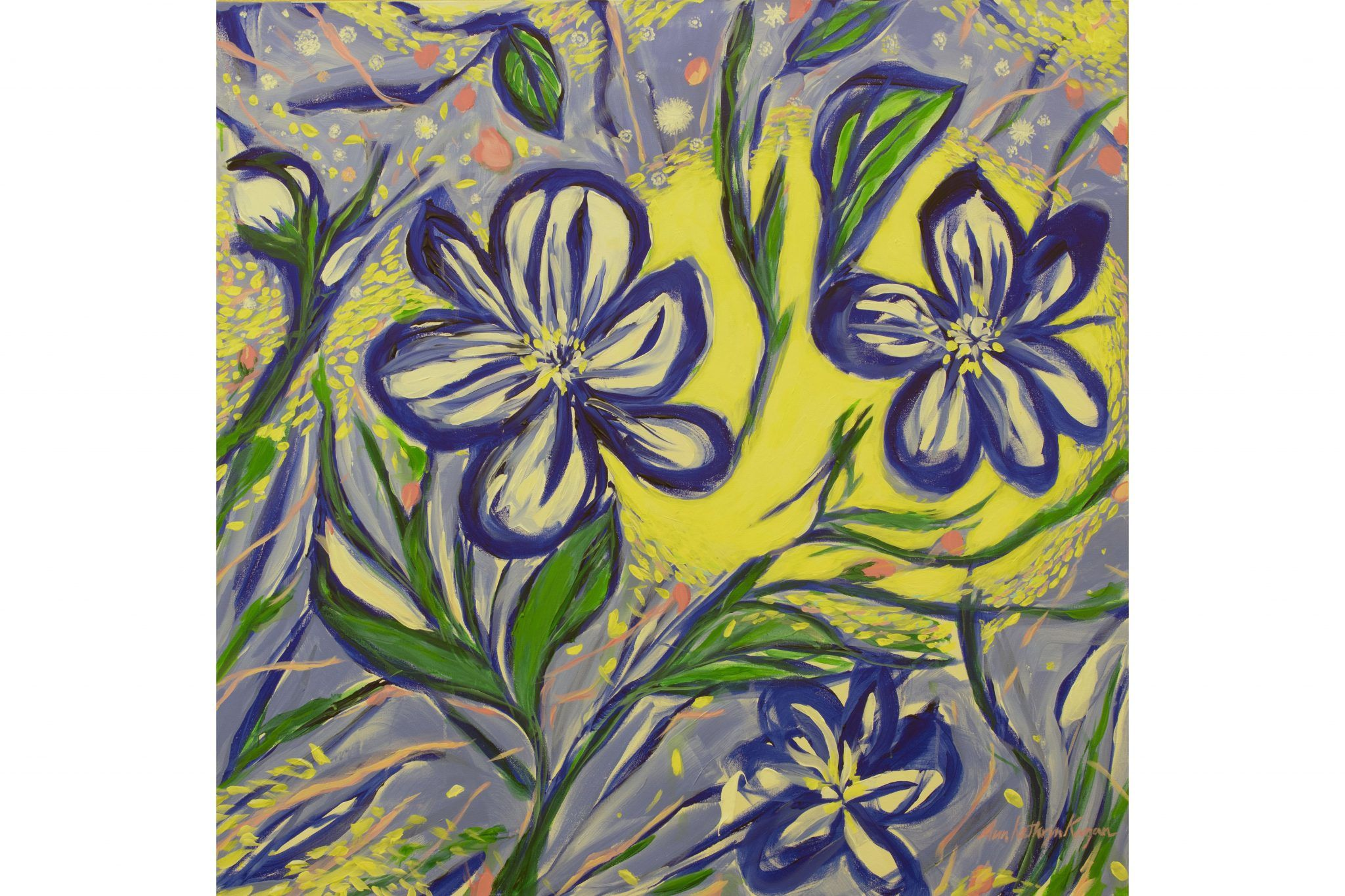 'Blue Flower Sunshine'