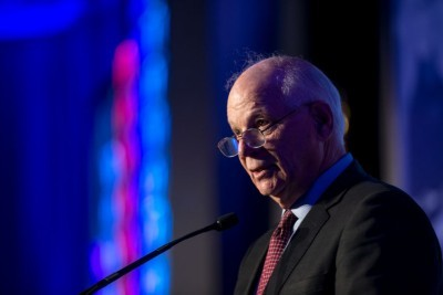 Sen. Ben Cardin Aims Fire at Trump and Netanyahu in J Street Talk