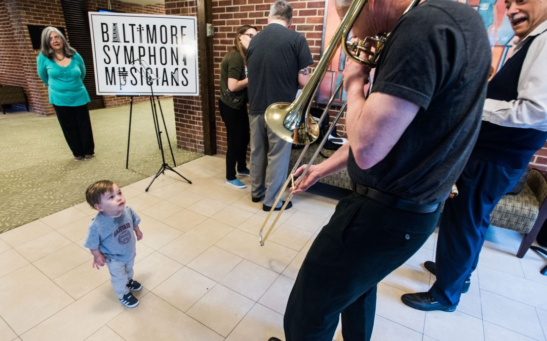 BSO Musicians Perform for Youngsters at Baltimore Hebrew Congregation