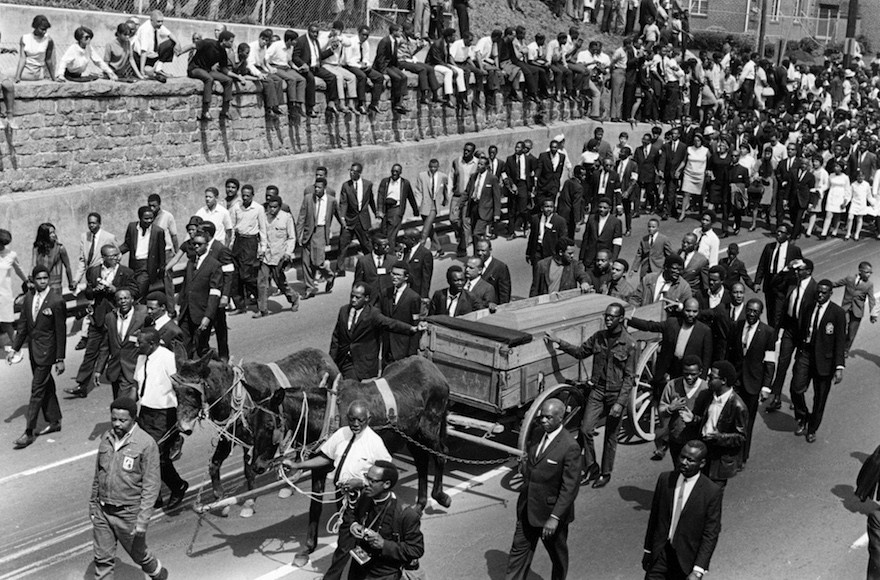 How JTA Reported on Martin Luther King Jr.'s Assassination