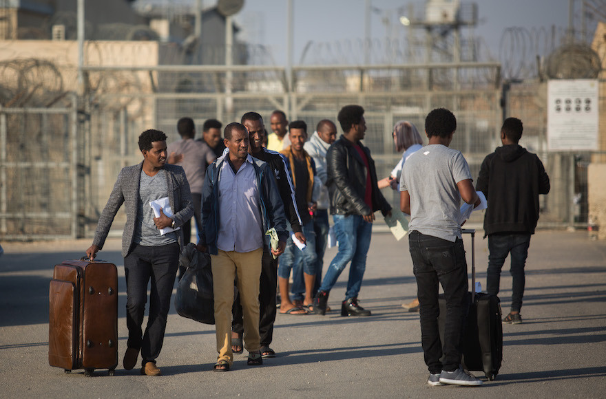 African asylum seekers