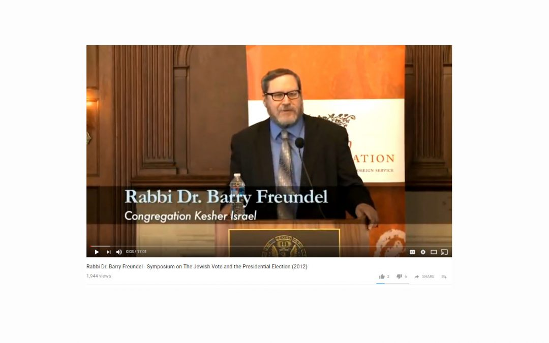 Mikvah-Peeping Rabbi Barry Freundel to Receive Early Release from Jail