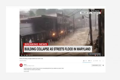 Associated Initiates Emergency Campaign for Ellicott City Victims