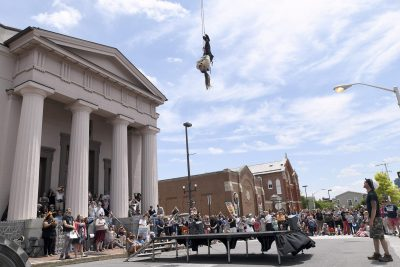 Houdini Exhibition Opening and Jonestown Festival Attract Crowds