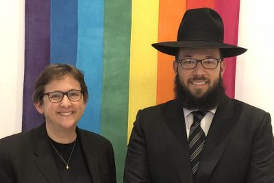 This Orthodox Rabbi Just Took a Job at an LGBT Synagogue