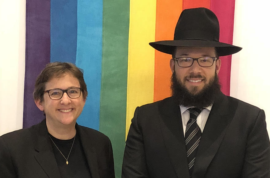 This Orthodox Rabbi Just Took a Job at an LGBT Synagogue