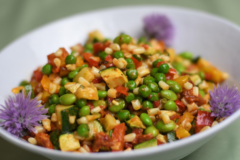 Farmers Market Quinoa Salad