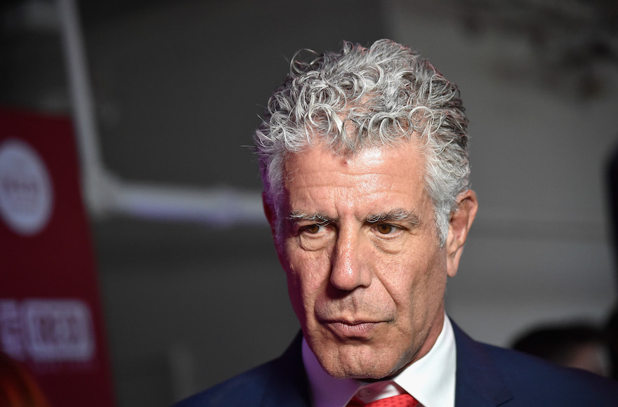 Anthony Bourdain Used Food to Bridge Divides — Even Between Arabs and Jews