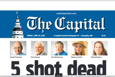 PressBox, Jmore Stand With Our Capital Gazette Colleagues
