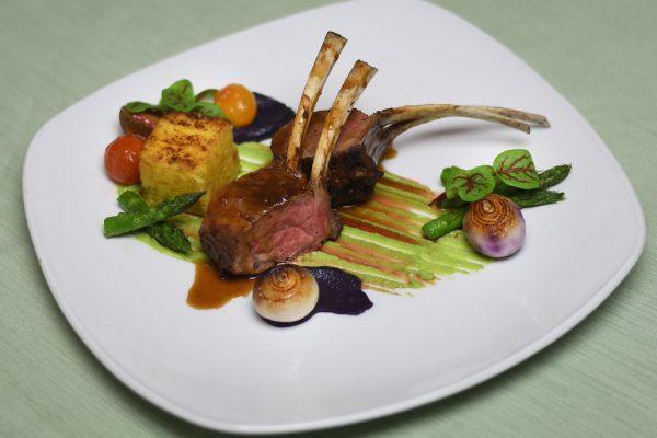 Tandoori Grilled Lamb Rack