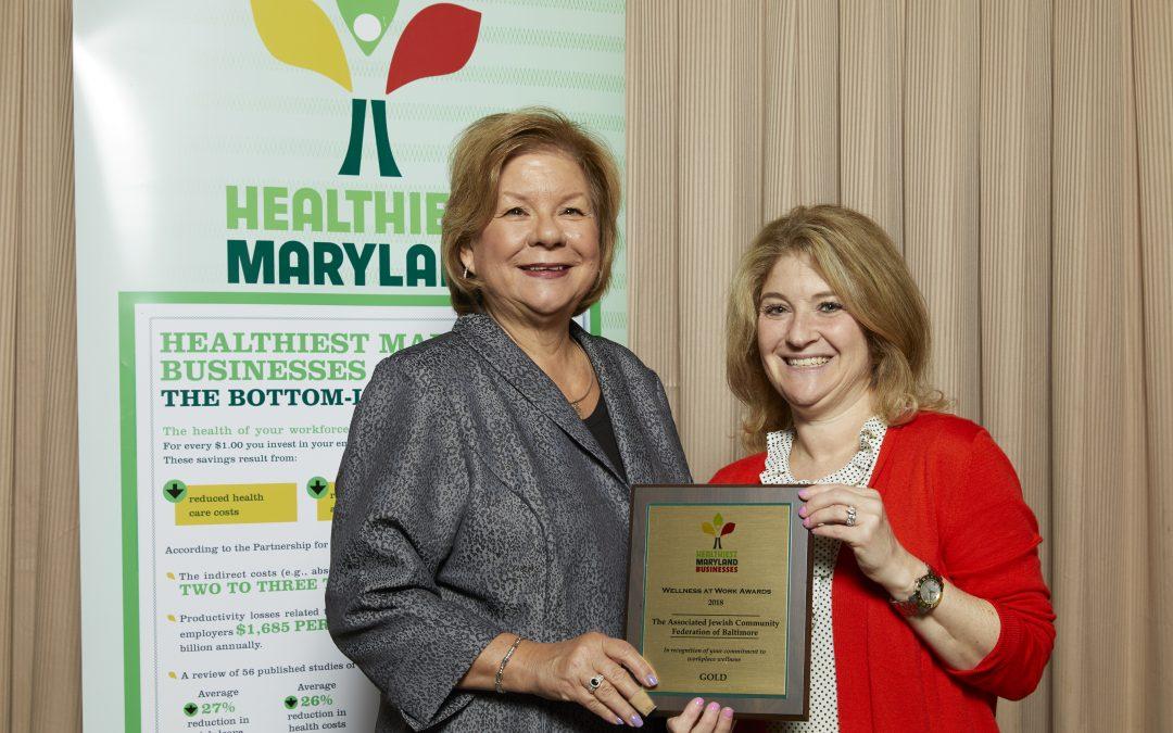 Associated Receives Wellness at Work Award