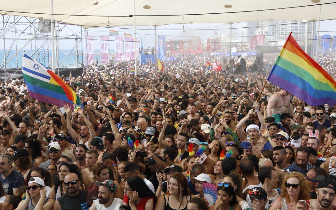 Tel Aviv Pride Parade Draws 250,000 Participants