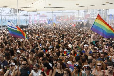 Tel Aviv Pride Parade Draws 250,000 Participants