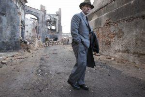 Paul Rudd plays Moe Berg