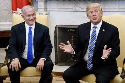 Trump Says Israel Will Have to Pay a 'High Price' for Embassy Move in Peace Deal