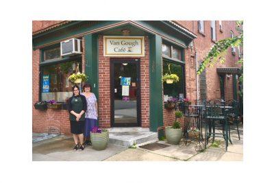 Van Gough Cafe is Both Kosher and Bohemian