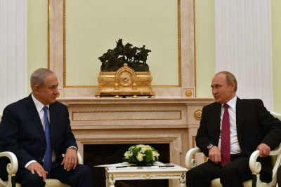 4 Highlights from Benjamin Netanyahu's Whirlwind Trip to Russia